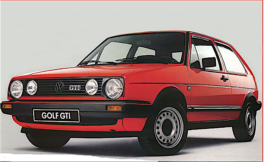 volkswagen golf gti qui con curiosit video e foto. Black Bedroom Furniture Sets. Home Design Ideas