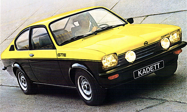 OPEL KADETT  C – (1973/1979) – Germania