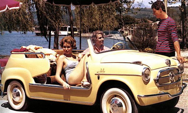 SPIAGGINA … l'auto della dolce vita – (dal 1956)
