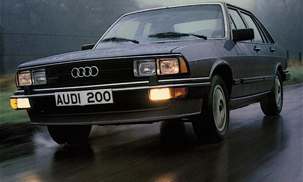 AUDI 200 – (1979/1990) – Germania
