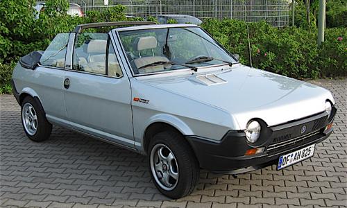 FIAT RITMO CABRIO – (1981/1988) – Italia