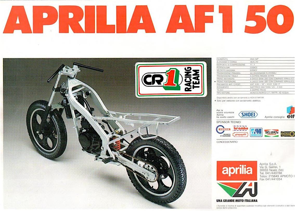 aprilia AF1 50