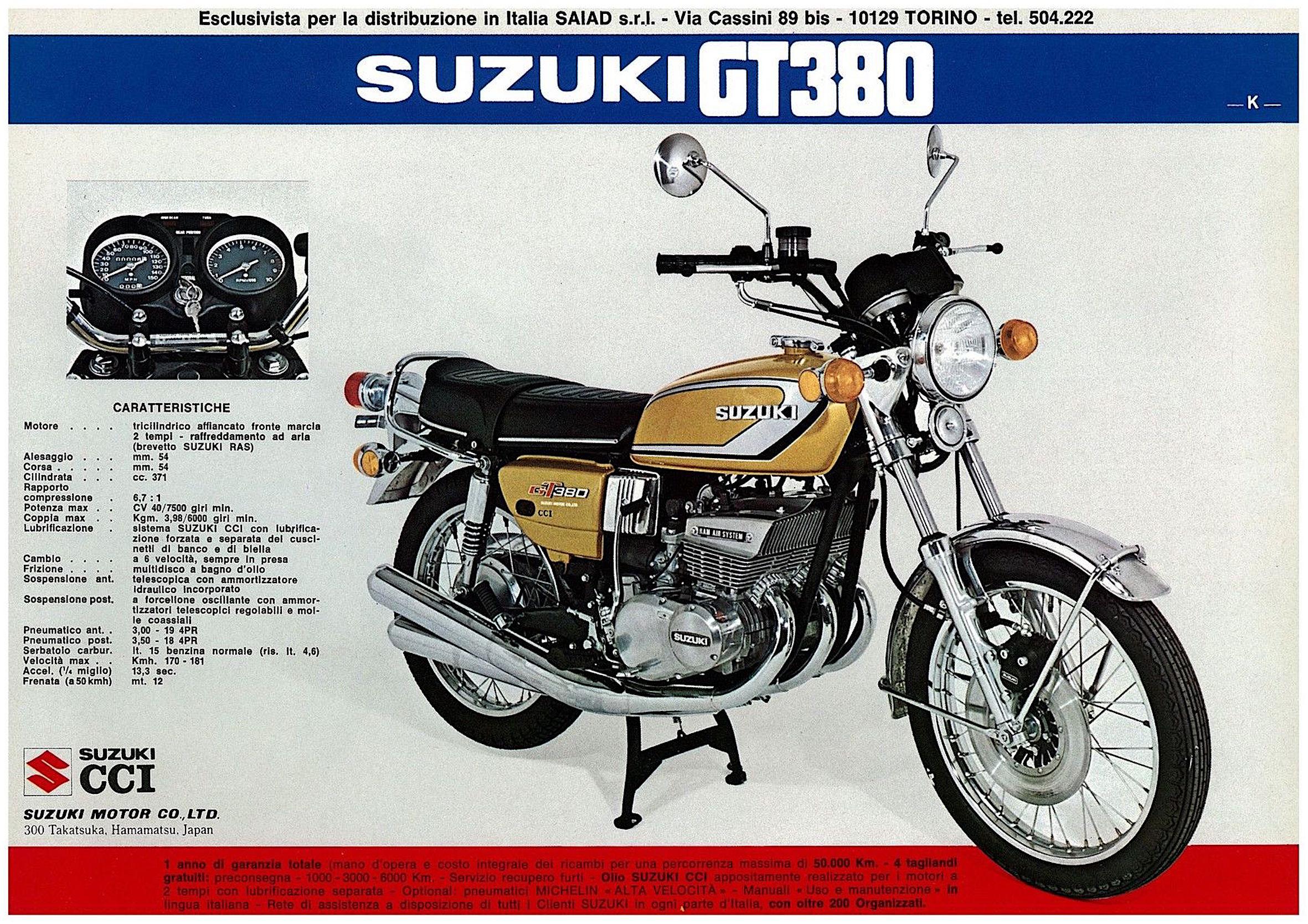 Suzuki GT 380