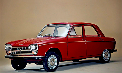 PEUGEOT 204 – (1965/1976) – Francia