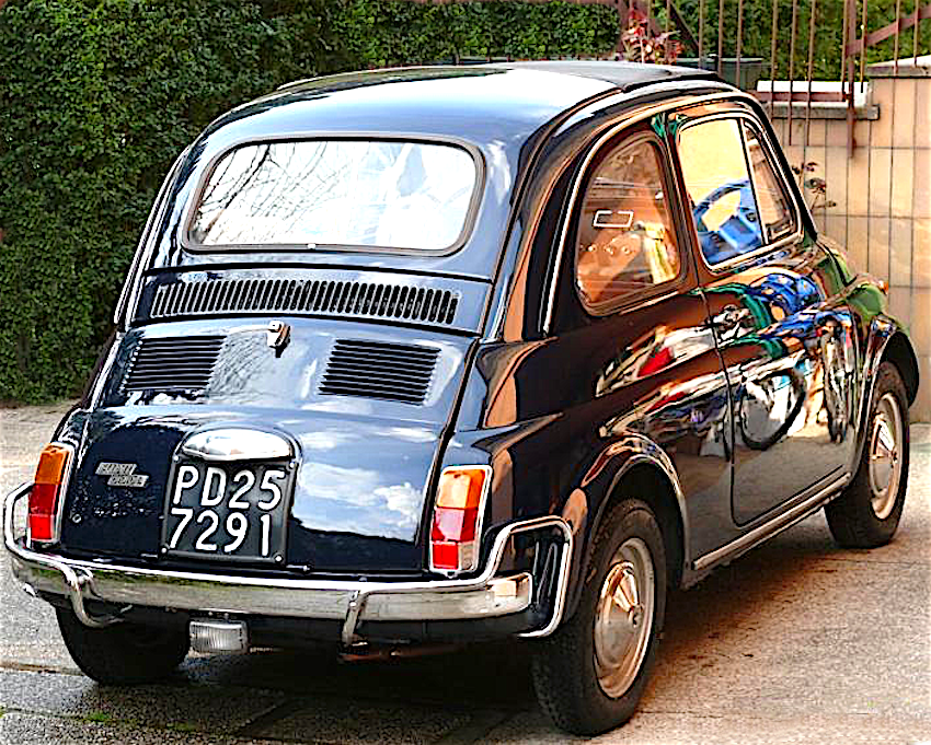 Fiat Nuova 500 L 1968 1972 Italia