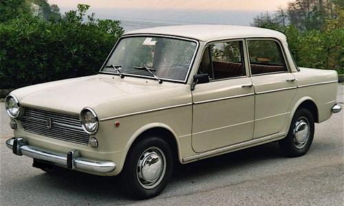 FIAT 1100 R – (1966/1969) – Italia