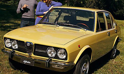 ALFETTA la berlina sportiva di casa Alfa Romeo – (1972/1984) – Italia