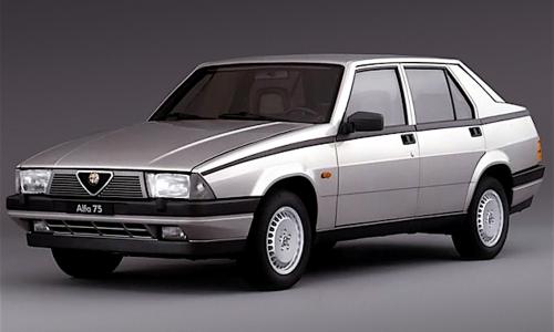 ALFA 75 (Prima Serie) – (1985/1988) – Italia