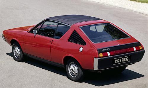 RENAULT 15 e 17 la coupé anni 70 – (1971/1979) – Francia