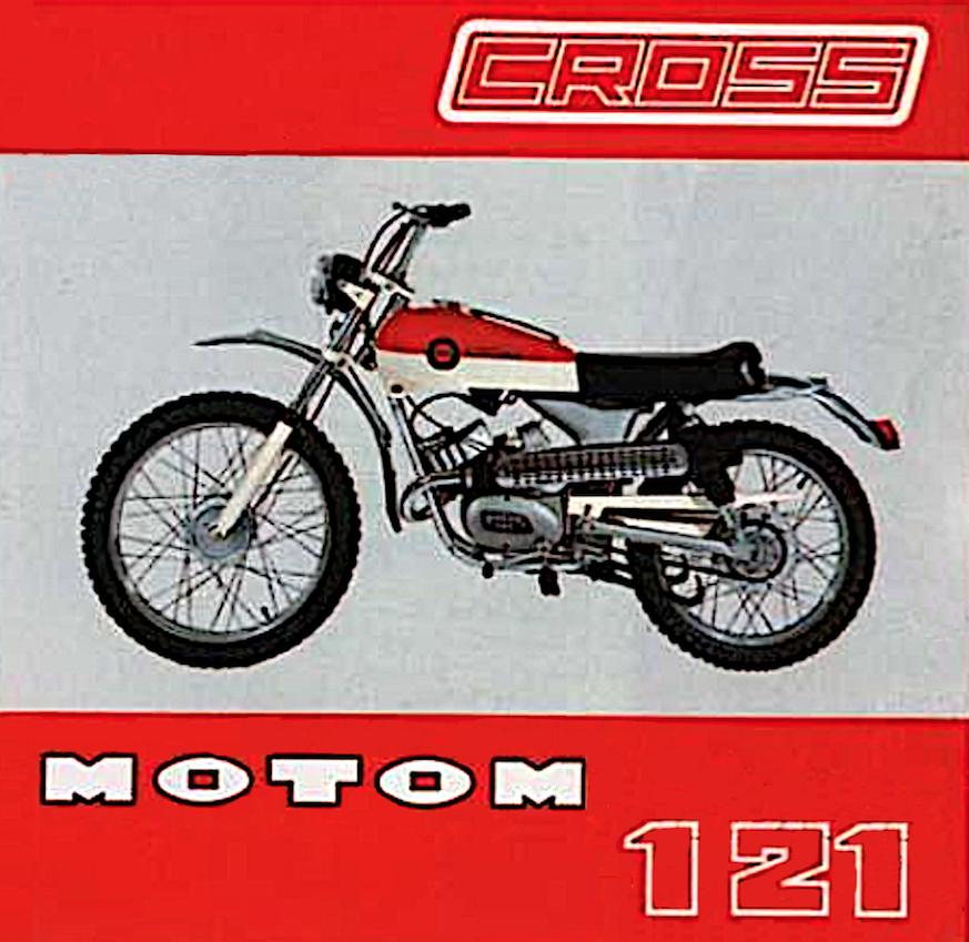 motom 121 cross