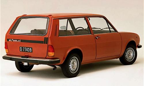 ALFASUD Giardinetta – (1975/1980) – Italia