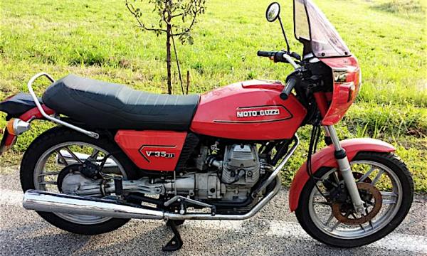 MOTO GUZZI V35 – (1977/1992) – Italia