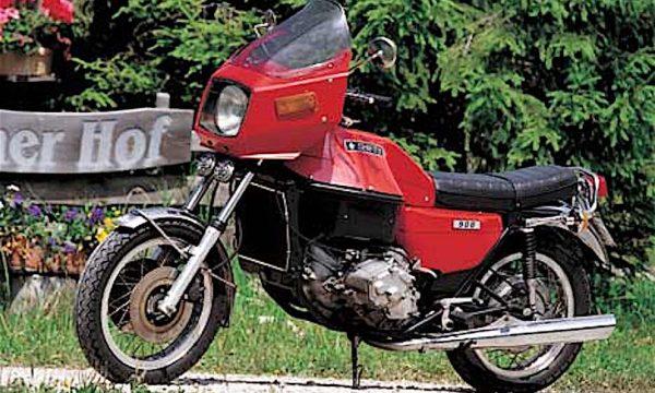 SHIFTY 900 in sella alla FIAT 127 – (Fine anni '70) – Italia