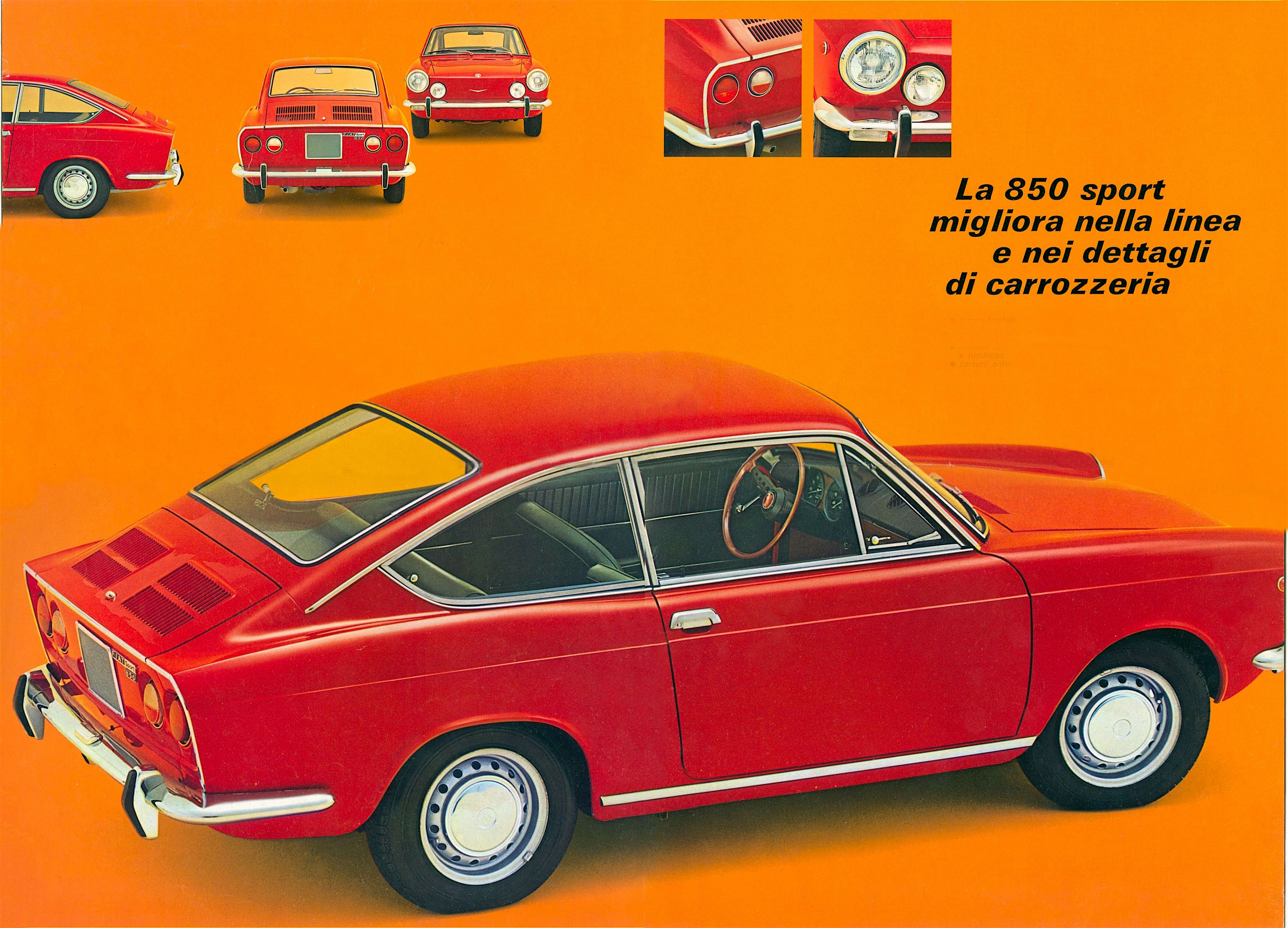 fiat 850 sport coupé