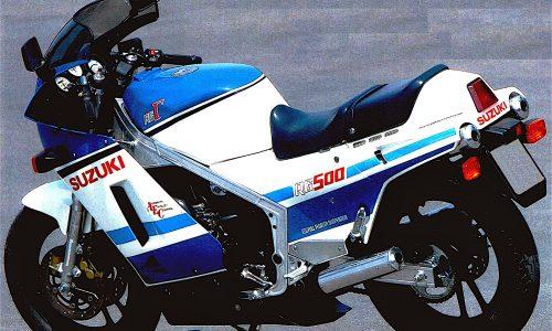 SUZUKI RG 500 – (1985/1989) – Giappone
