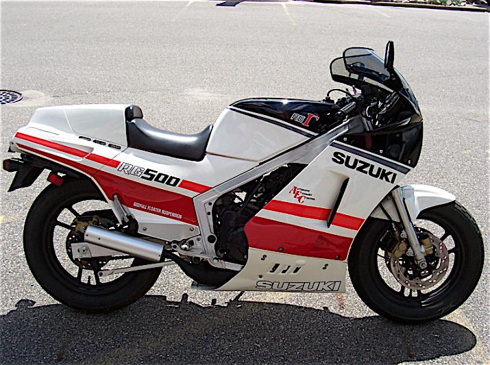 suzuki rg 500