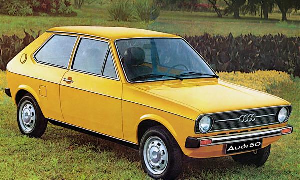 AUDI 50 … questa sconosciuta – (1974/1978) – Germania