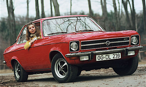 OPEL ASCONA (A) – (1970/1975) – Germania