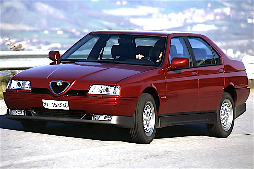 Alfa Romeo 164 Q4 Qui Con Curiosit U00e0  Caratteristiche