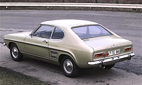 FORD CAPRI – Prima serie – (1969/1974) – Germania