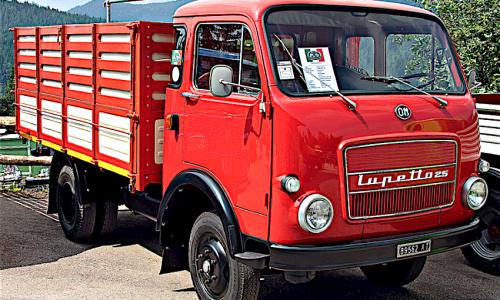 OM LUPETTO … l'autocarro dei nostri tempi – (1959/1968) – Italia