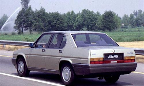 ALFA ROMEO 90 …. un' Alfetta anni '80 – (1984/1987) – italia