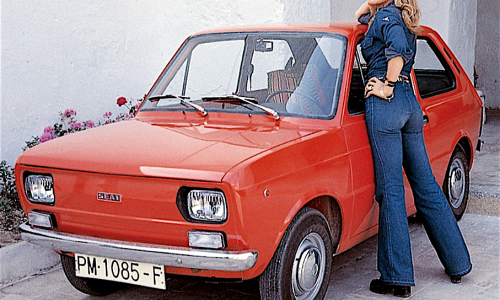 FIAT 133 progetto Fiat riproposto per Seat – (1974/1982)