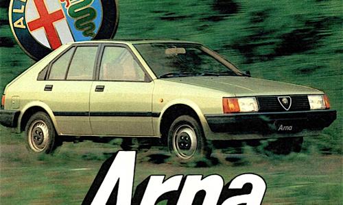 ARNA e sei subito Alfista – l'Alfa meno Alfa di tutte le Alfa – (1983/1987)