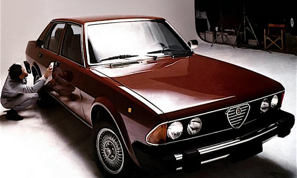 ALFA 6 – L'Alfa nata vecchia – La PRIMA SERIE – (1979/1983) – Italia