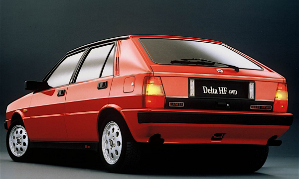 LANCIA DELTA HF 4WD – (1986/1988) – Italia