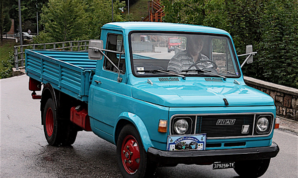 FIAT 616N il furgone della riscossa – (1965/1978)