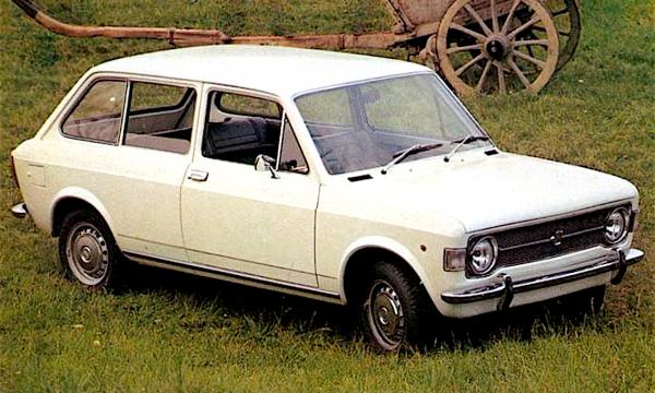 FIAT 128 FAMILIARE – (1969) – Italia