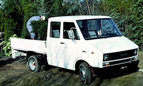 FIAT DAILY Iveco (Prima Serie) – (1978/1990)