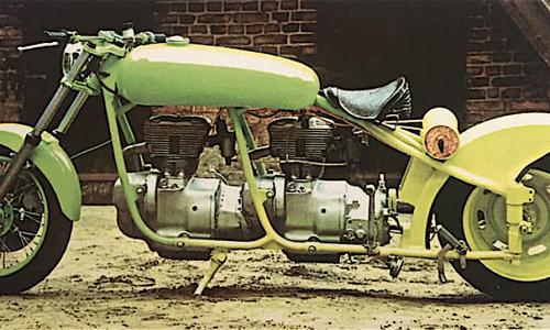 AWO Doppeltes Lottchen … la MOTO A DUE MOTORI – (1996)
