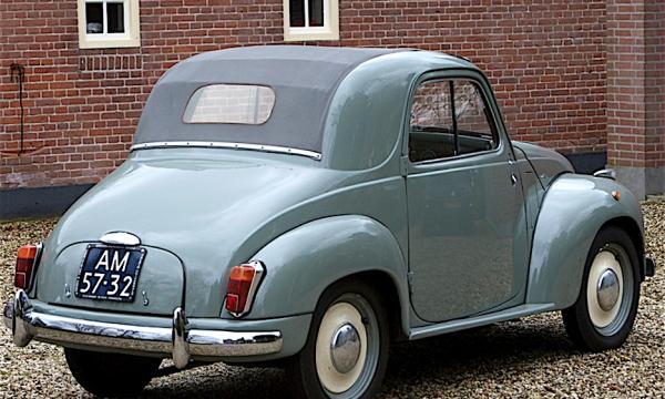 Fiat 500 TOPOLINO icona di un'epoca – (1936/1955) – Italia