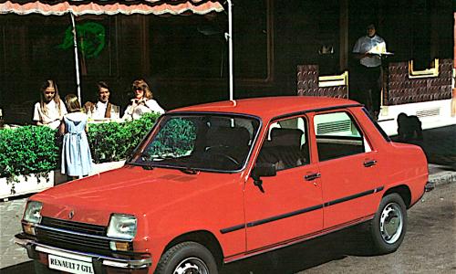 RENAULT 7 la sconosciuta a 3 volumi – (1974/1984)
