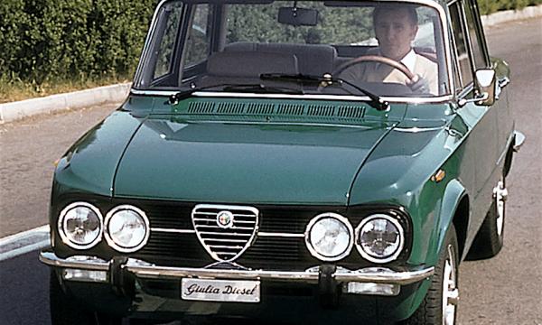 ALFA ROMEO GIULIA NUOVA SUPER – (1971/1977) – Italia