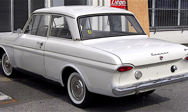 FORD TAUNUS P4 – (1962/1966) – Germania