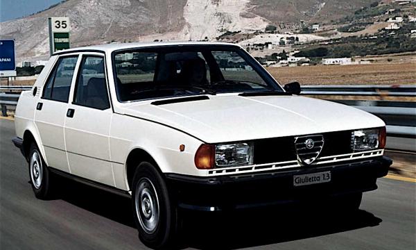 Nuova GIULIETTA prima serie – (1977/1981) – Italia