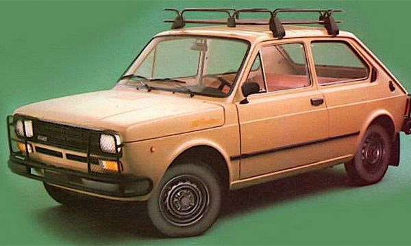 FIAT 127 RUSTICA la dura di casa Fiat