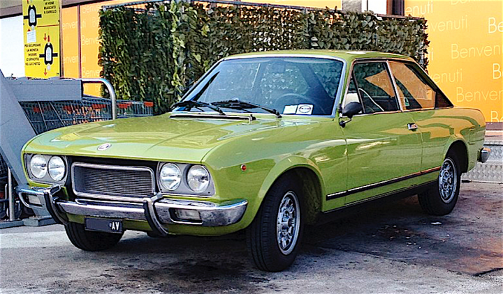 Fiat 124 Sport Coupe 3 serie