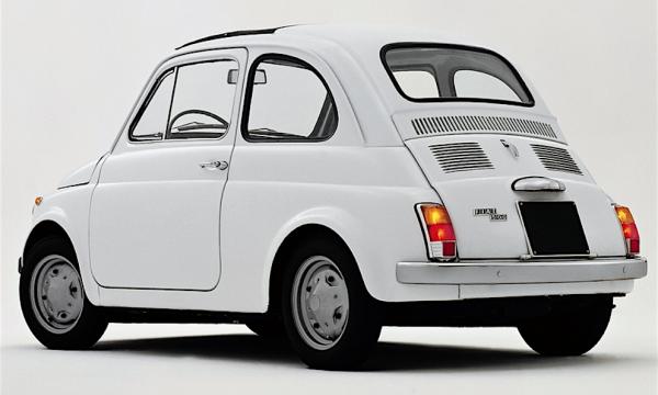 FIAT 500 R l'ultima versione – (1972)