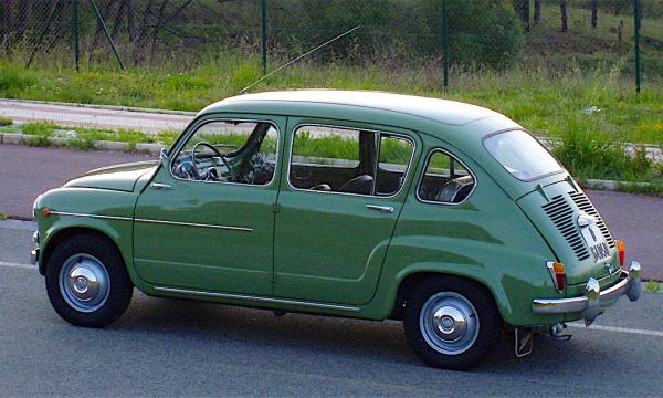 SEAT 800 – La Fiat 600 a 4 porte – (1964/1967) – Spagna