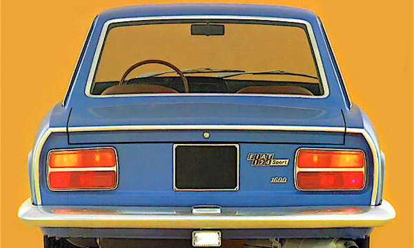 FIAT 124 Sport Coupé – Seconda serie (1969/1972) – Italia