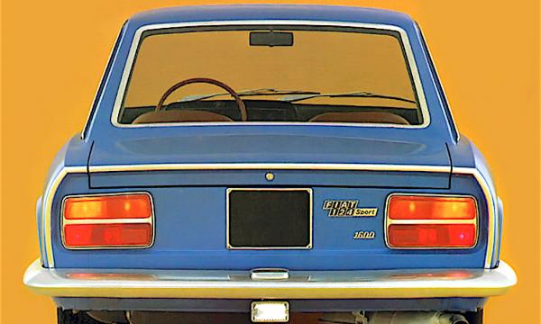 FIAT 124 Sport Coupé – Seconda serie (1969/1972) – Italia