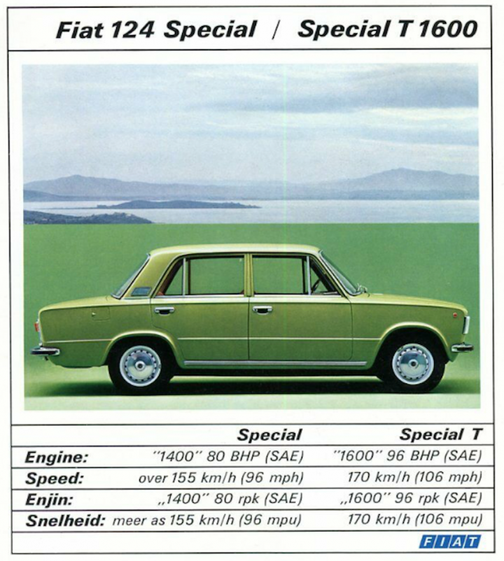 Fiat 124 special T