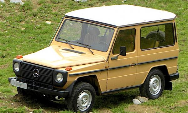 MERCEDES CLASSE G … il fuoristrada – Prima serie (1979/1991) – Germania
