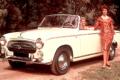 PEUGEOT 403 convertible (1955) - Francia