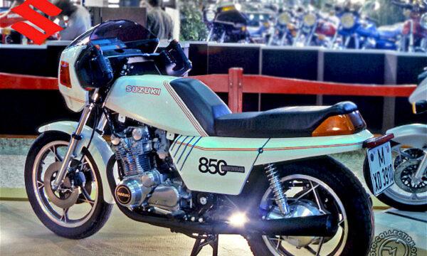 SUZUKI 850 GS Italdesign … la moto senza manopole – (1979)